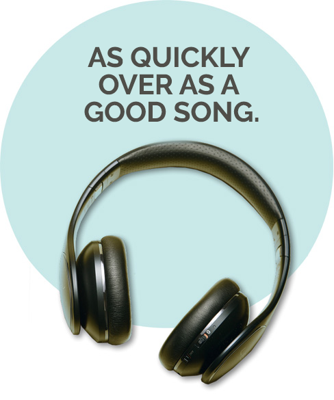 As quickly over as a good song | Digid Produkt